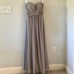 Grey - Silver Bridesmaid Dress